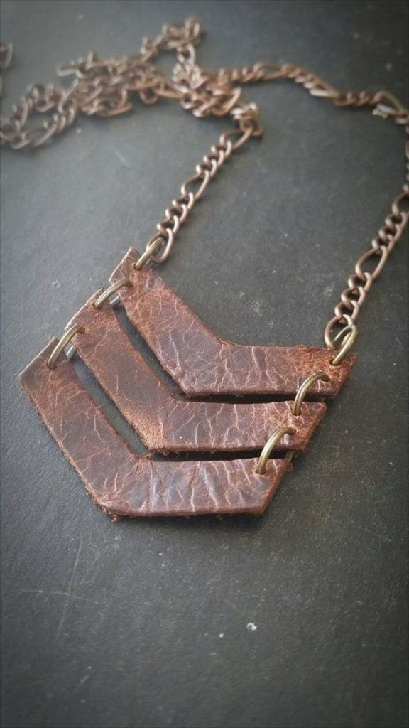Photo of Leather-Necklace-jewlery | DIY and Crafts