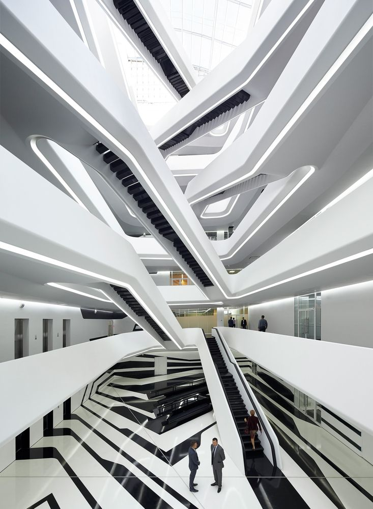 Gallery of Dominion Office Building / Zaha Hadid Architects - 1 - Prix Gros Oeuvre Maison