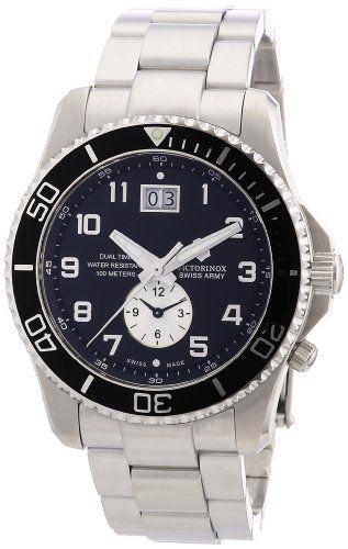 Victorinox Swiss Army Men's 241441 Maverick GS Dual Time Black Double Date Dial Watch Victorinox,http://www.amazon.com/dp/B004DPFBXO/ref=cm_sw_r_pi_dp_WeYttb01VQD4T7Z9  Watch for Brian?