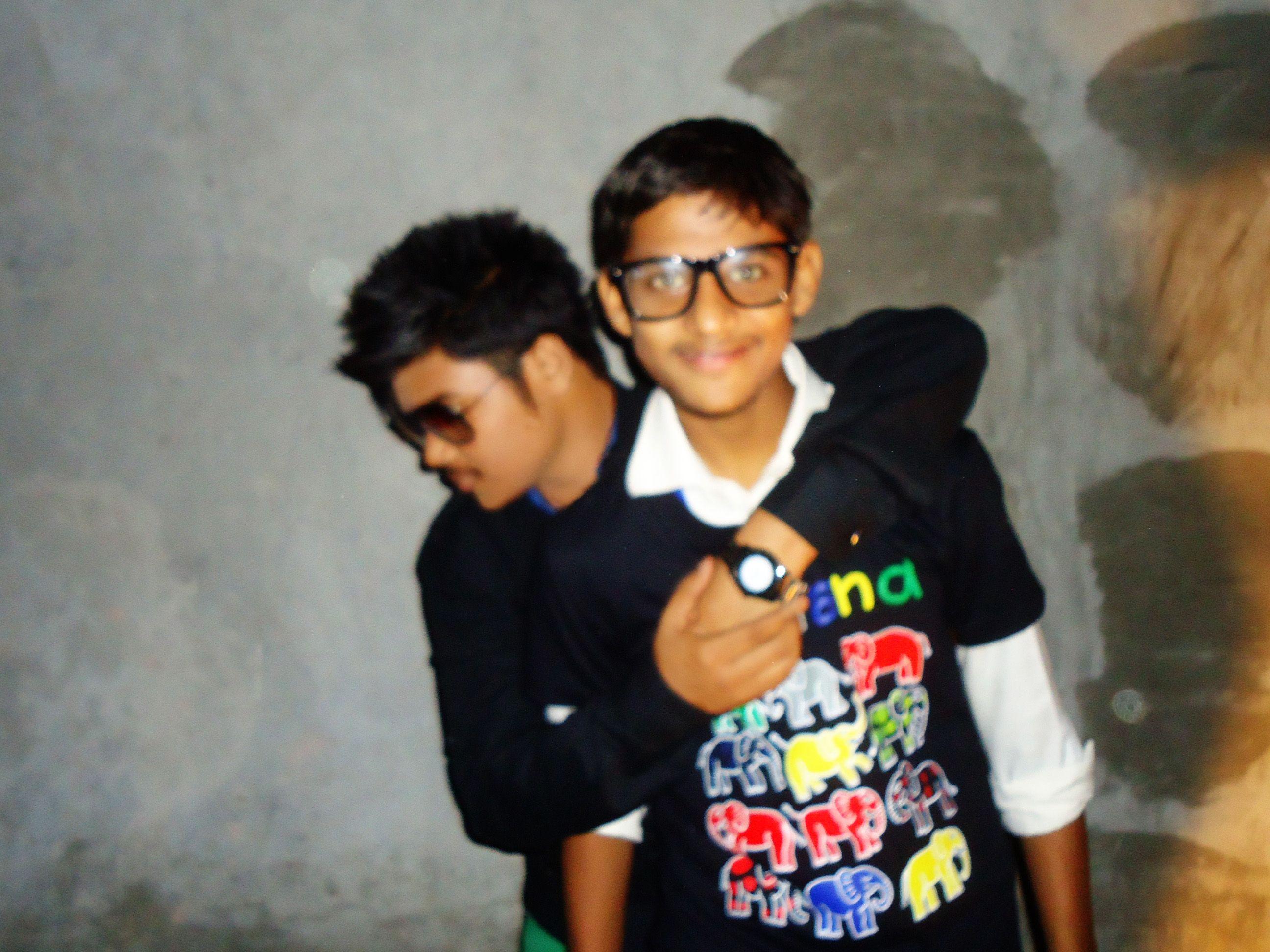 Sahil Akram with Sharoon Nasim