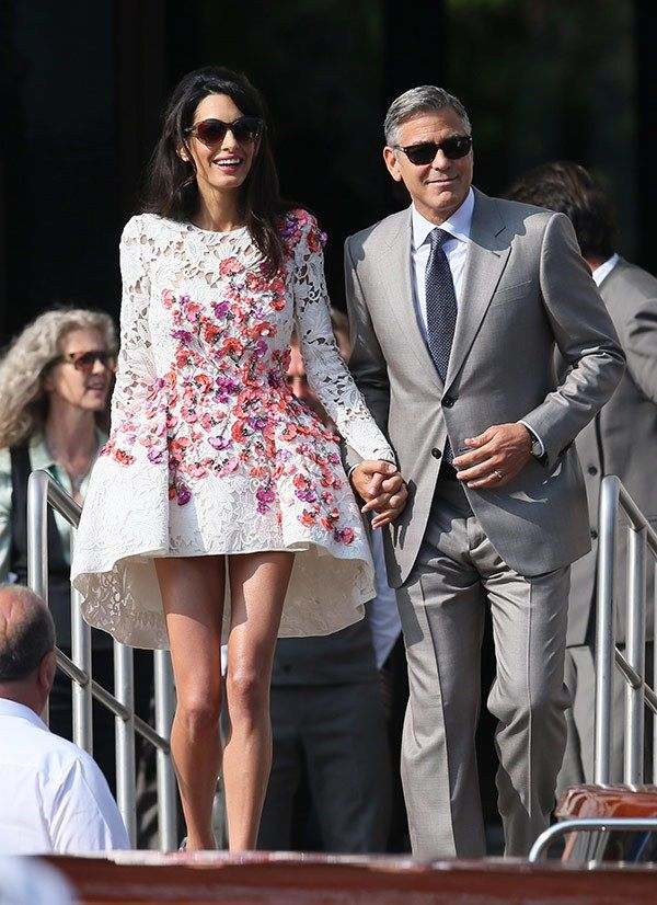 George clooney and amal alamuddins marriage rock solid