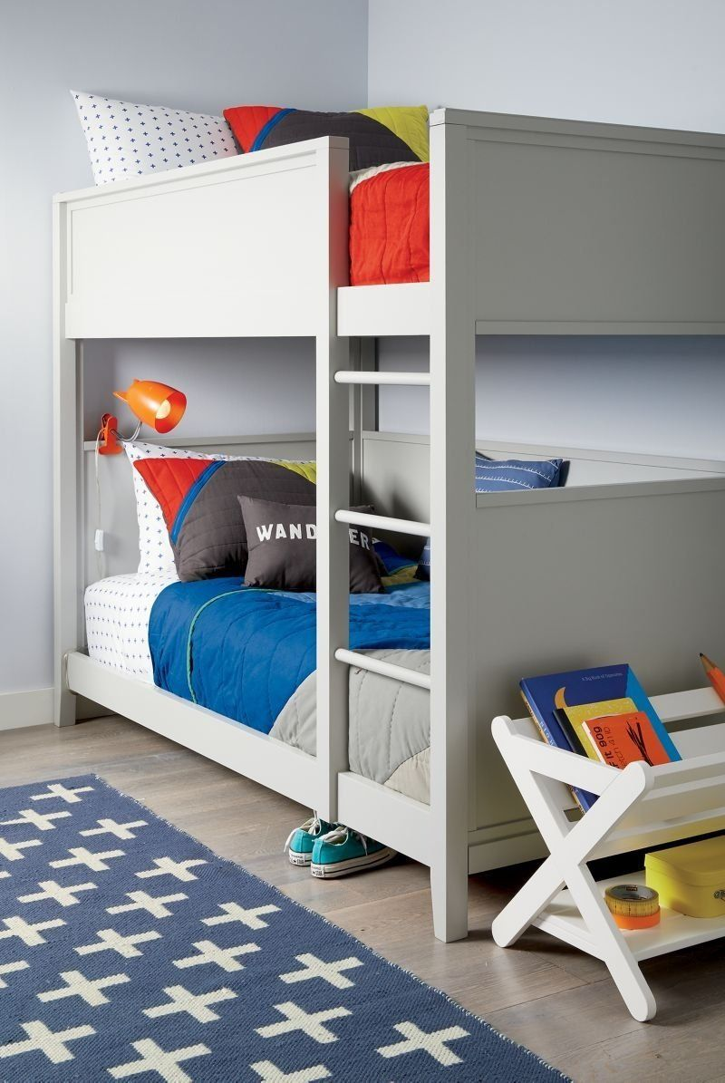 Small Space Twin Bunk Bed Reviews Crate And Barrel Twin Bunk Beds Beds For Small Rooms Bunk Beds