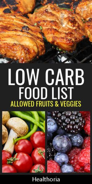 Low Carb Food List -   6 healthy recipes Fruit low carb ideas