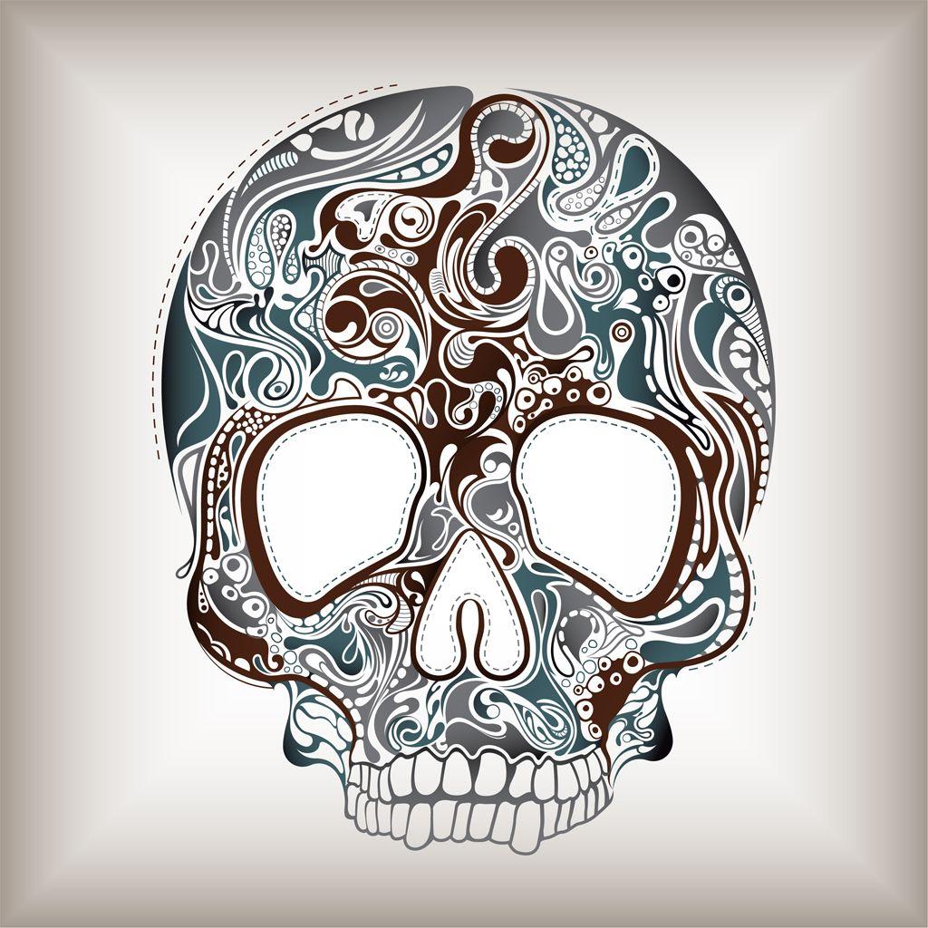 wallpaper additionally sugar skull - photo #8