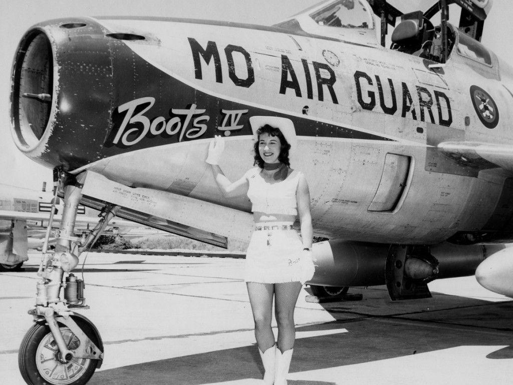 F84F40RE Thunderstreak Montana Air National Guard