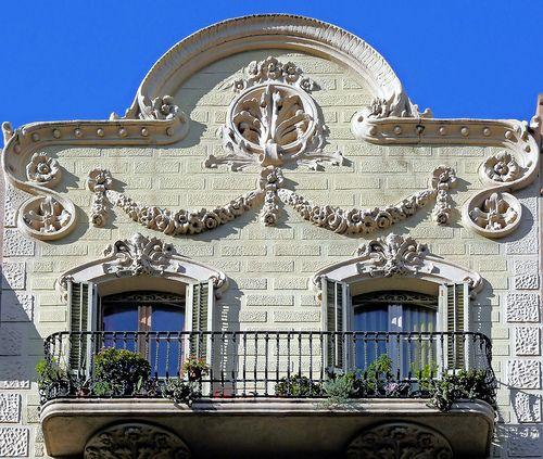 Casa Vicenç Bofill.  Architect: Josep Pérez i Terraza. Barcelona - Balmes