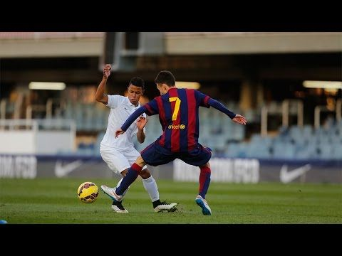Nike Academy vs FC Barcelona - YouTube