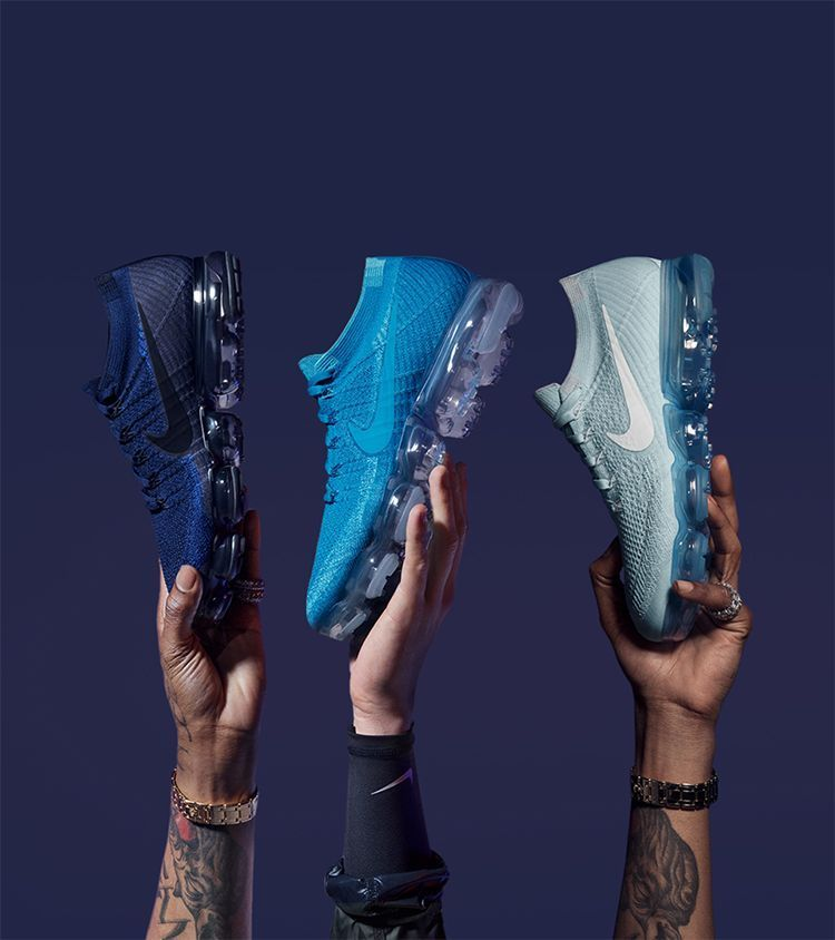 b656733d13b7 Take a look behind the design at the Nike Air Vapormax Flyknit Day to Night  Collection. Stay a step ahead of the latest sneaker launches and drops.