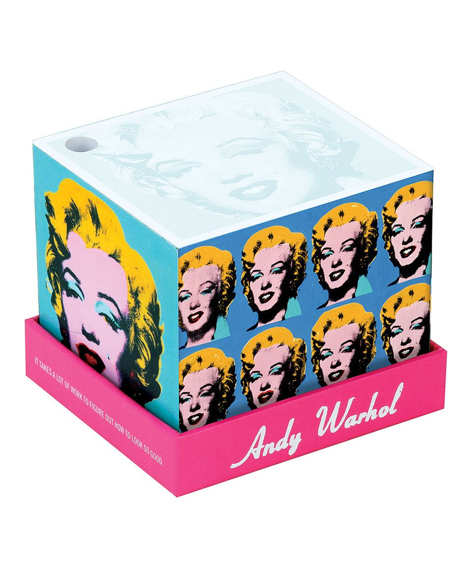 Look what I found on #zulily! Andy Warhol Marilyn Memo Block by Chronicle Books #zulilyfinds