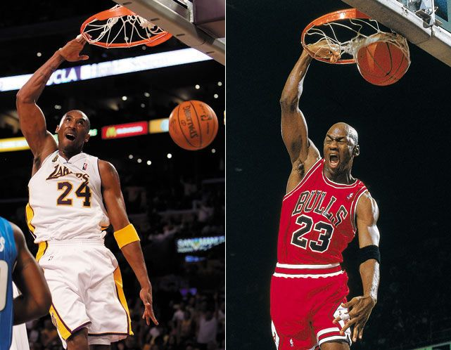 9c8a36fbd1c Many sports fans have compared Kobe Bryant to Michael Jordan