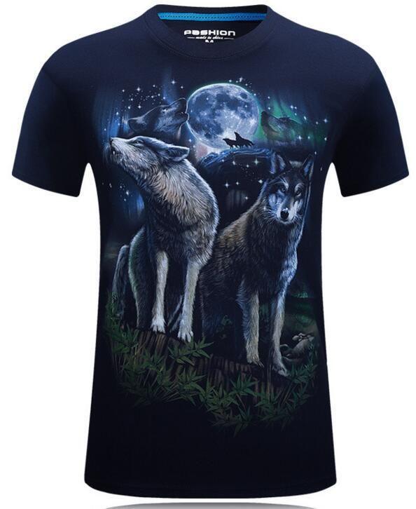 3D T Shirt Men Hip Hop T-shirt