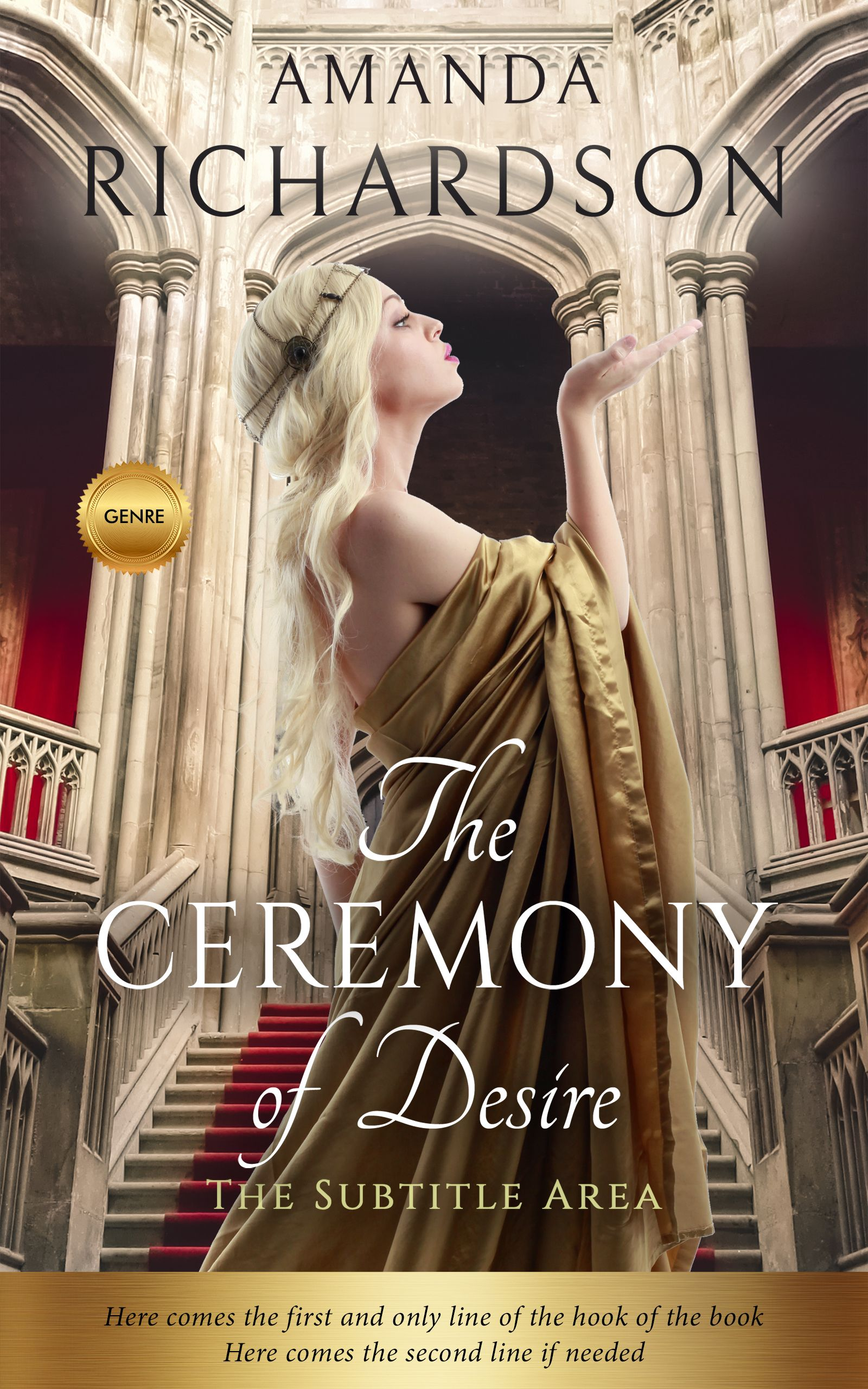 Mongoose new fiction royal romance premade book cover