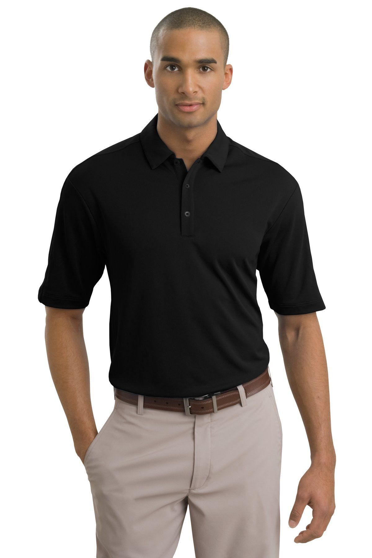 Nike Golf - Tech Sport Dri-FIT Polo.266998 Black