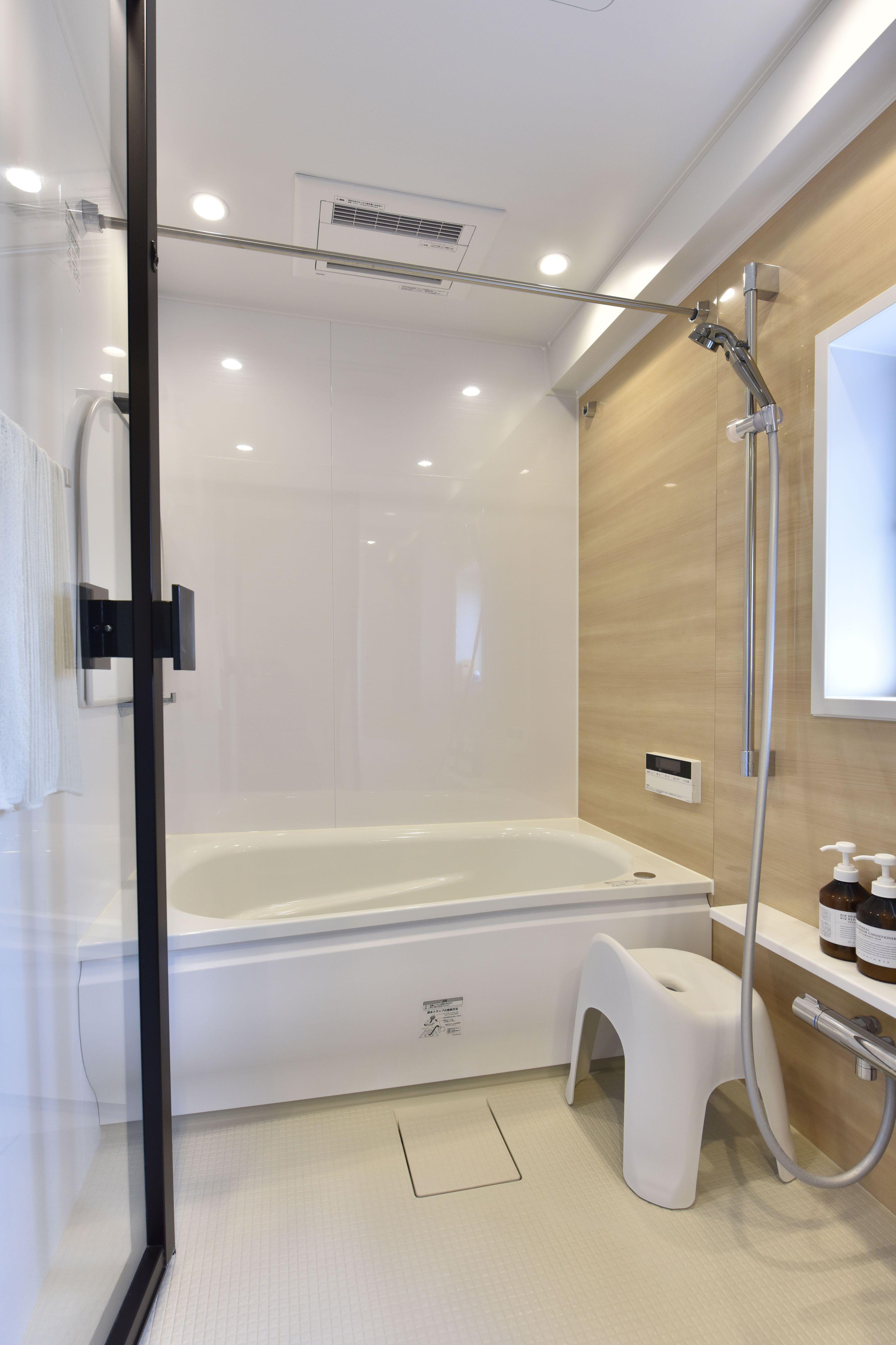 039 リノベに方向転換で大成功 浴室 デザイン バスルーム おしゃれ ユニットバス
