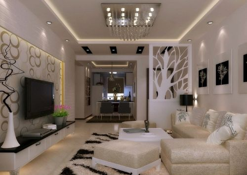 Dekorasi Ruang Tamu Luas Google Search Elegant Living Room Ceiling Design