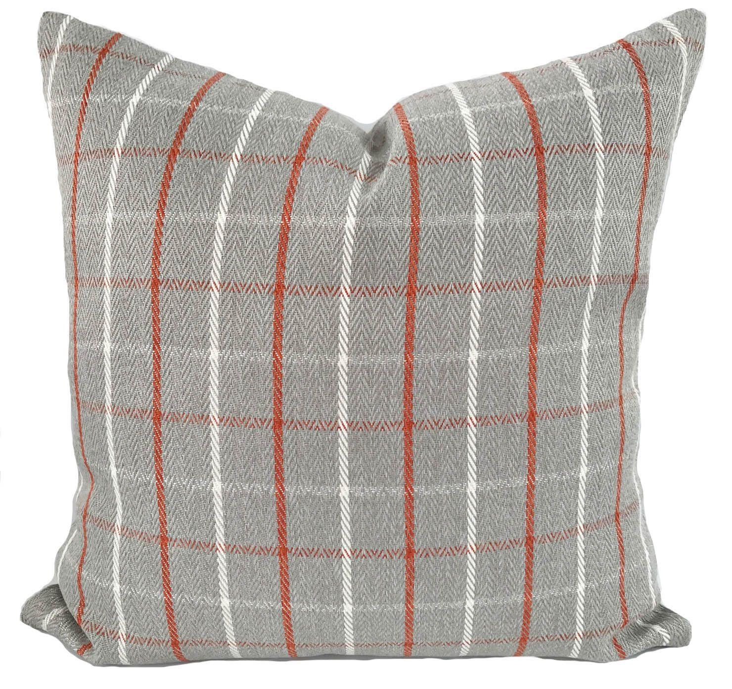 ikat and designs pillow orange coral lumbar navy large carousel damask