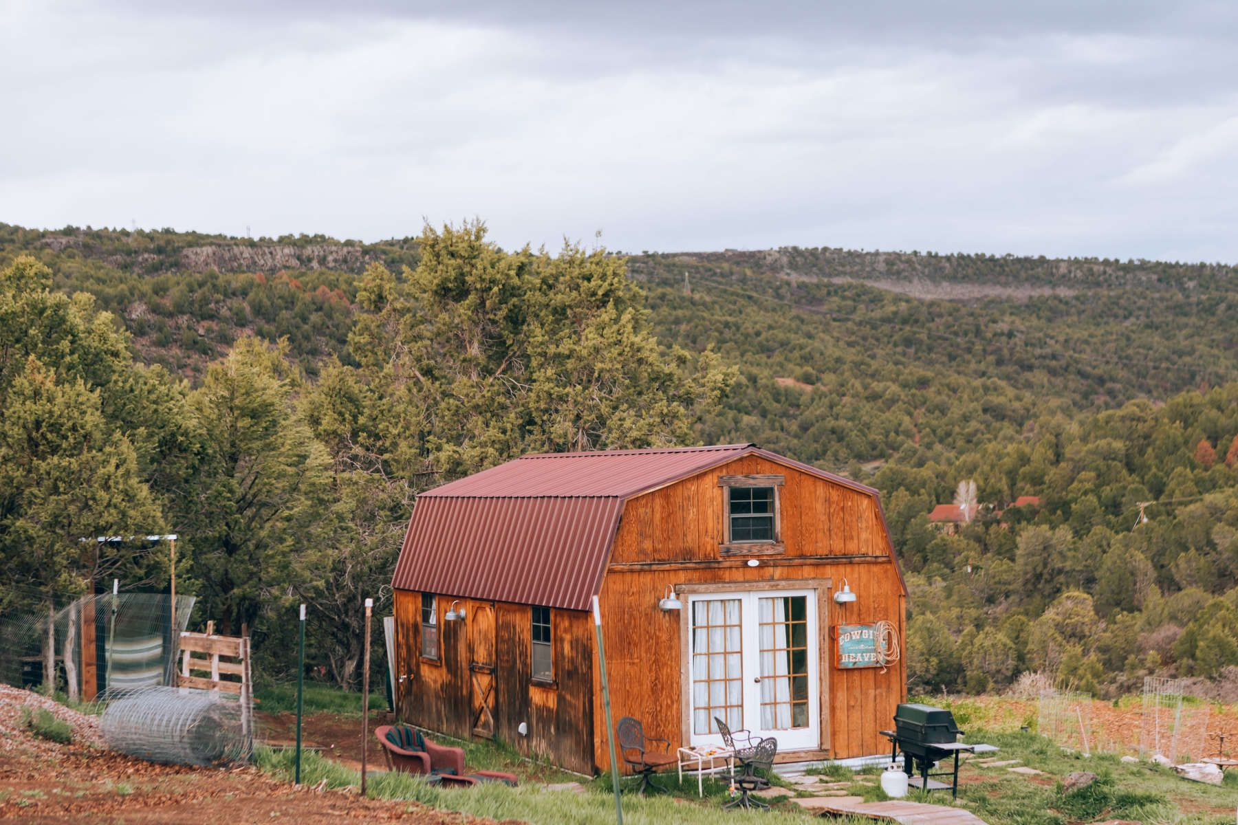 Check Out This Hipcamp In Cowgirl Cabin Private Horse Ranch Cedar Ridge Ranch Co Photo By Hipcamper Caitlin Fullam Cabin Tent Glamping Horse Ranch