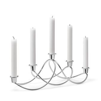 Harmony Candle Holder From Georg Jensen Nordicnest Com In 2020 Scandinavian Candles Candle Holders Candles