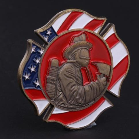 American Firefighter Challenge Coin American firefighter