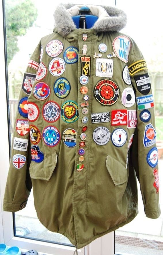 Parka + patches | Army Parka Extreme Cold Weather and More ...