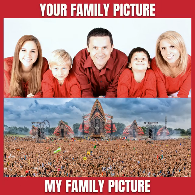 Your Family Picture vs. My Family Picture | Defqon.1 2016 | Defqon.1 Power Hour | Defqon.1 2018 | Aftermovie | Hardstyle Festival | Hardstyle Family | Lasershow | Weekend Warriors | Dragonblood | Bass Modulators | Anthem | Hardstyle Wallpaper | Hardstyle Quotes
