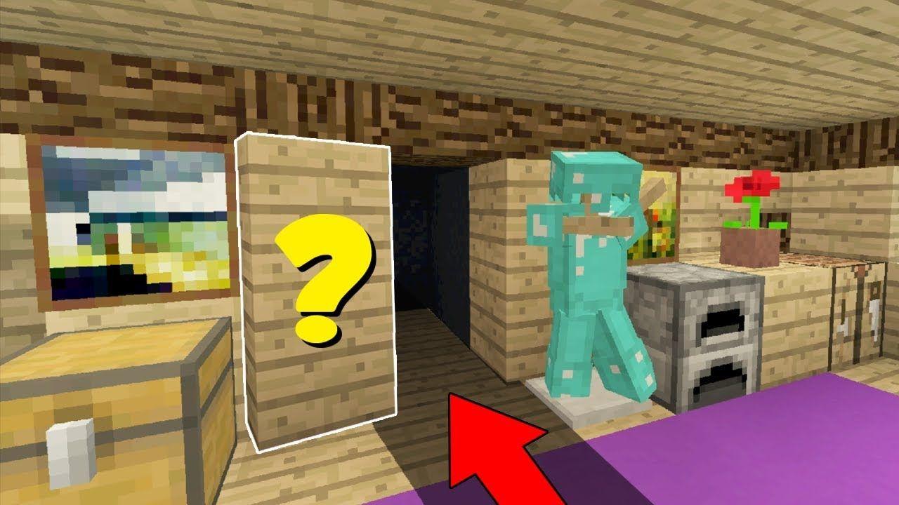 Minecraft Tutorial How To Make A Secret Room 1