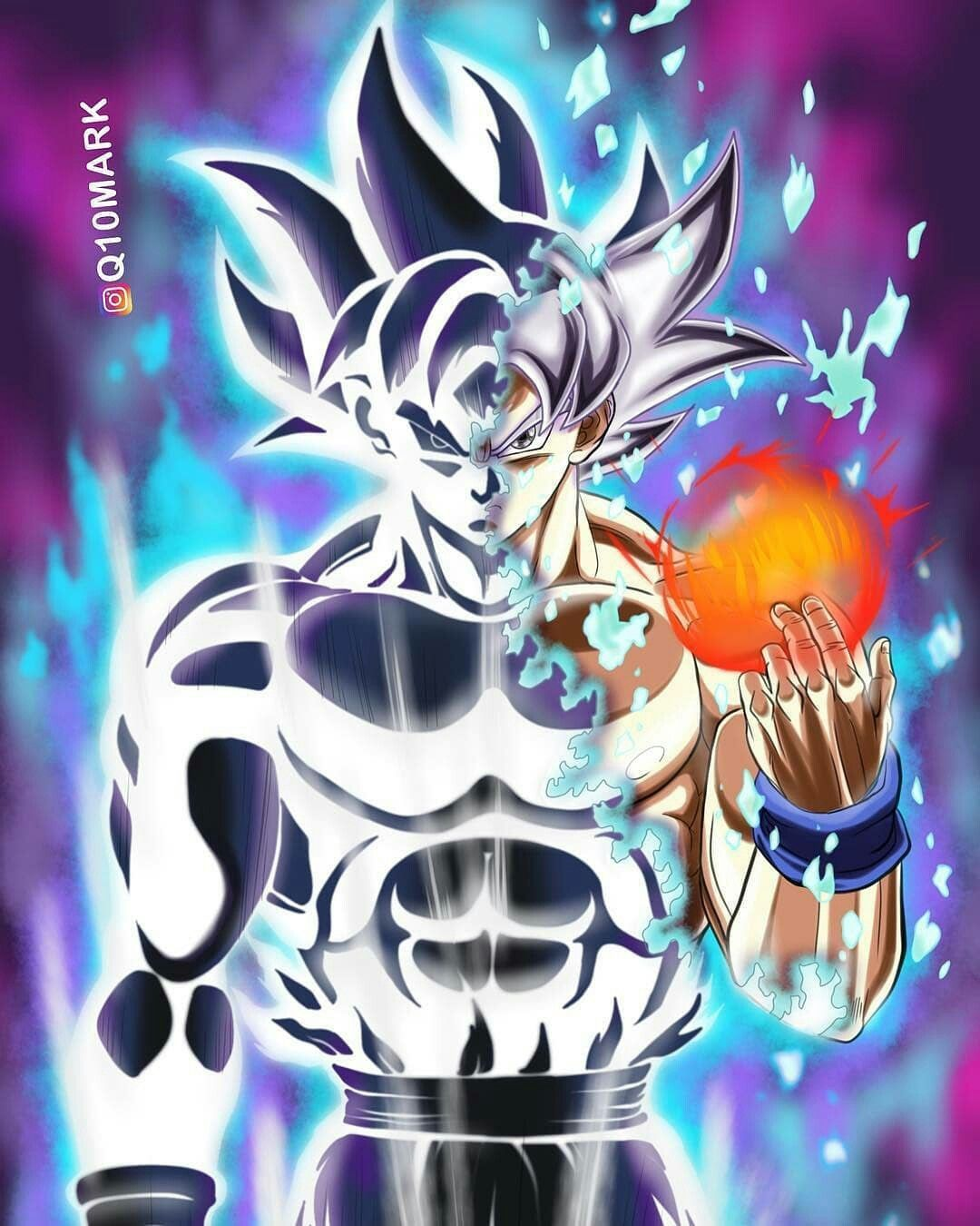 Ultra Instinct Dragon Ball Super Wallpaper: Goku Mastered Ultra Instinct By AdeBa3388deviantartcom On
