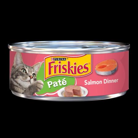 Purina Friskies Pate Salmon Dinner Wet Cat Food 5 5 Oz Can Products Purina Friskies Canned Cat Food Food