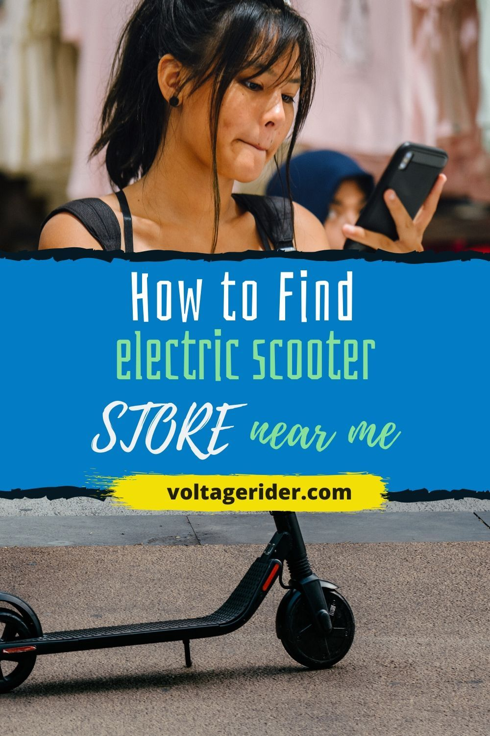Pin on Girls on Electric Scooters