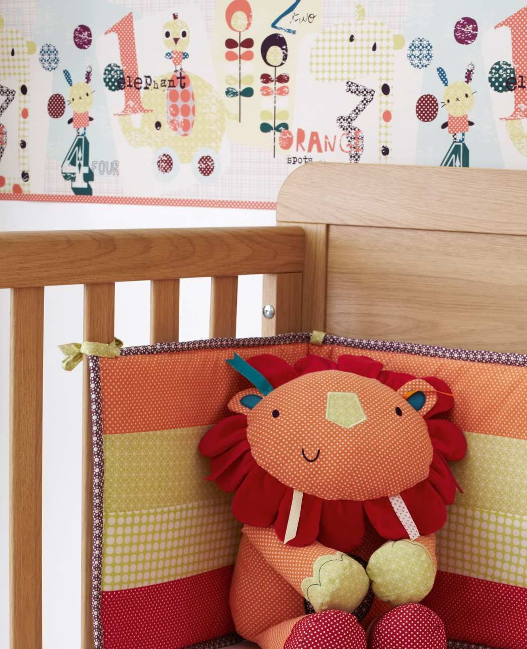 Jamboree Wallpaper Border Colourful And Full Of Character Detail This Will Bring Your Nursery To Life