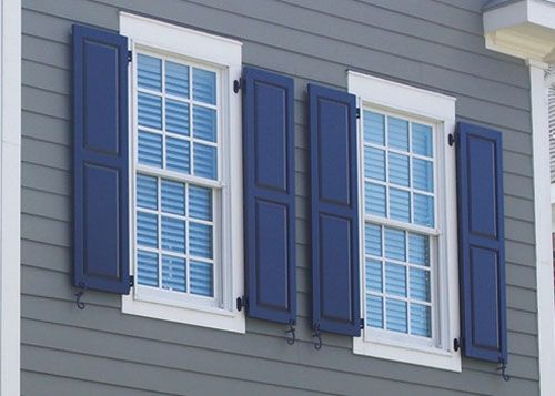 Exterior Wood Windows With Shutters Decorative Exterior Window