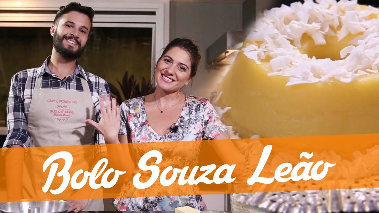 Bolo Souza Leao Carol E Murilo Receita Bake Off Brasil Souza