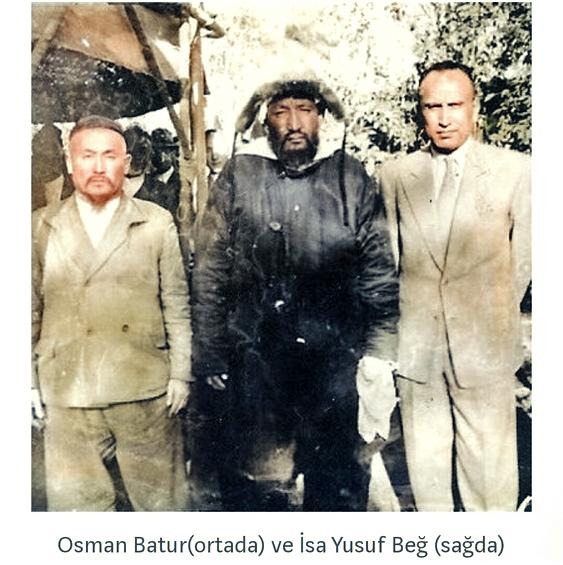 Osman Batur ve İsa Yusuf Alptekin (Осман Батур мен Иса Юсуф Альптекин)   Osman, Fotoğraf, Tarih