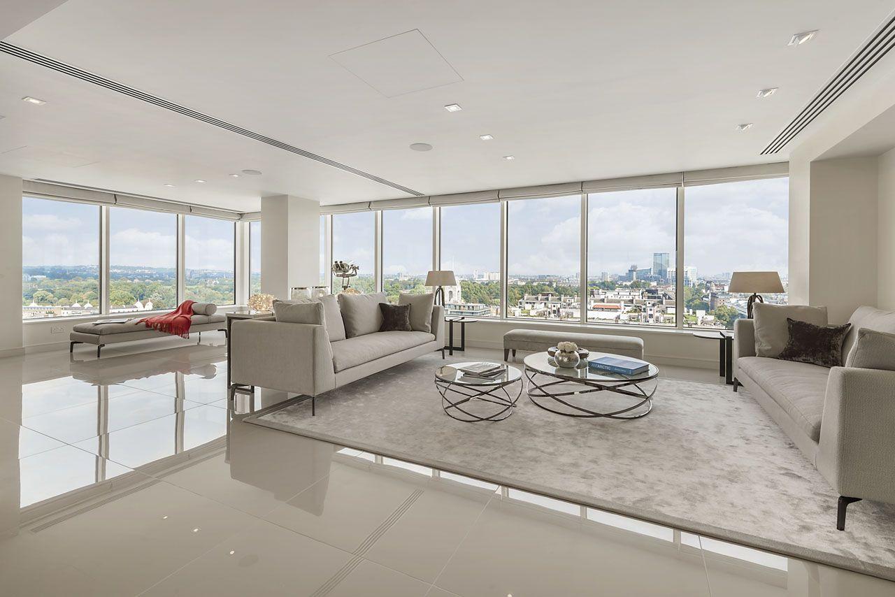 Nice Luxury London Apartment Home Design Ideas