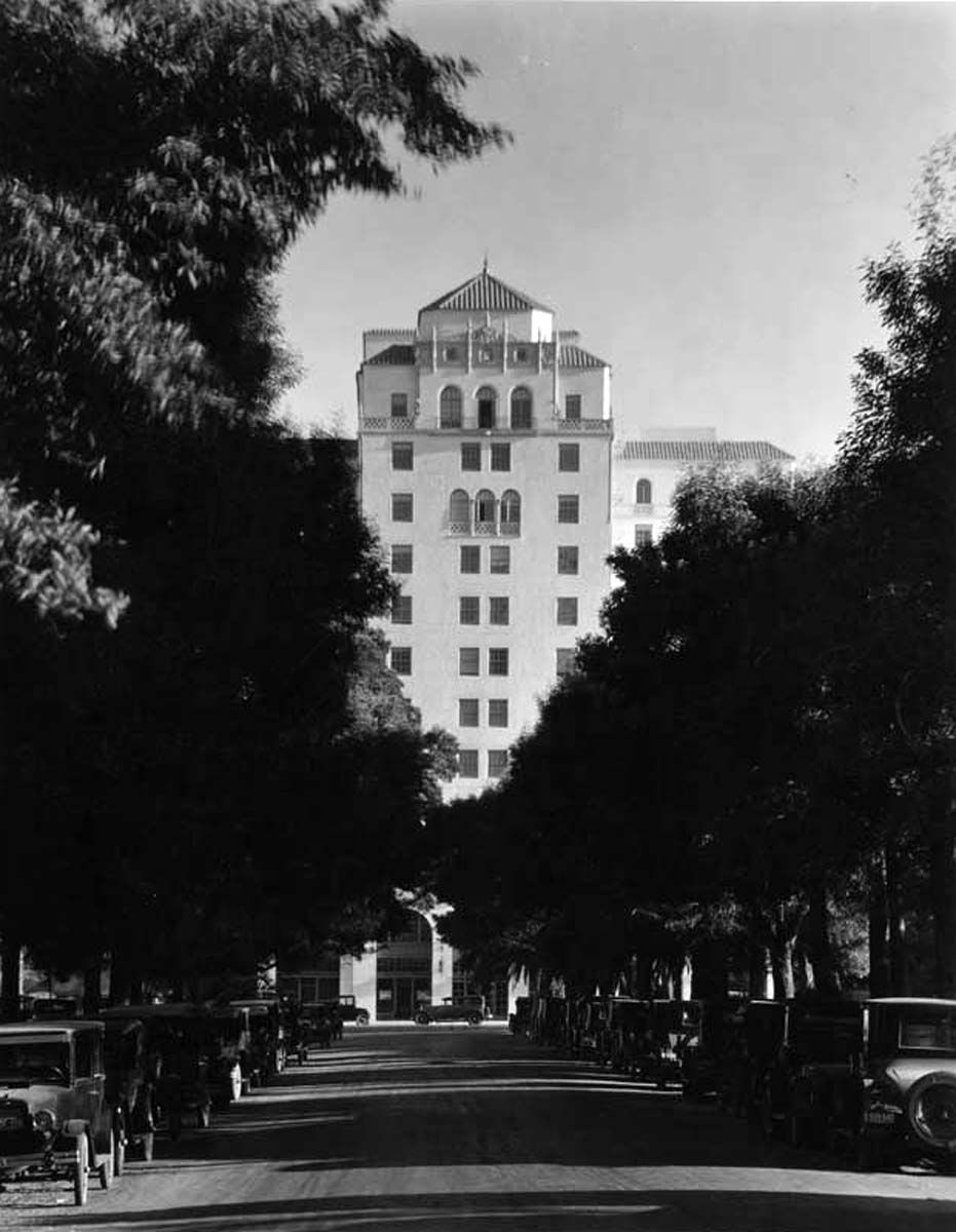 The Hollywood Roosevelt Hotel, Located At 7000 Hollywood