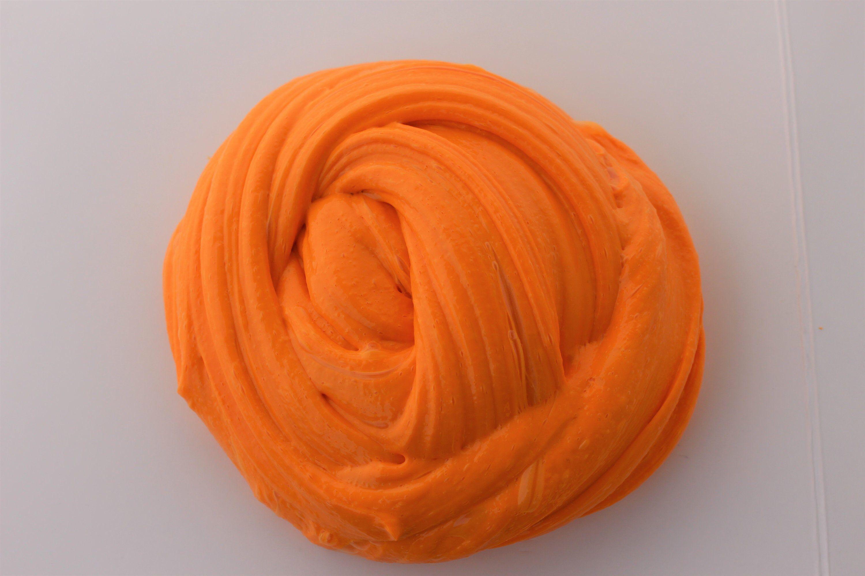 Orange Creamsicle Slime