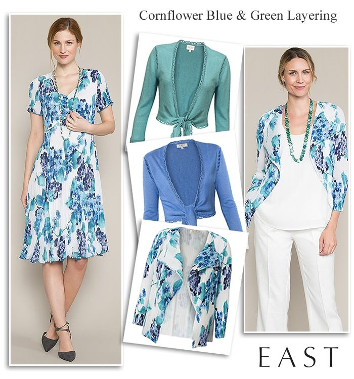 East Blue Green Wedding Occasion Outfits | Design trends | Pinterest ...
