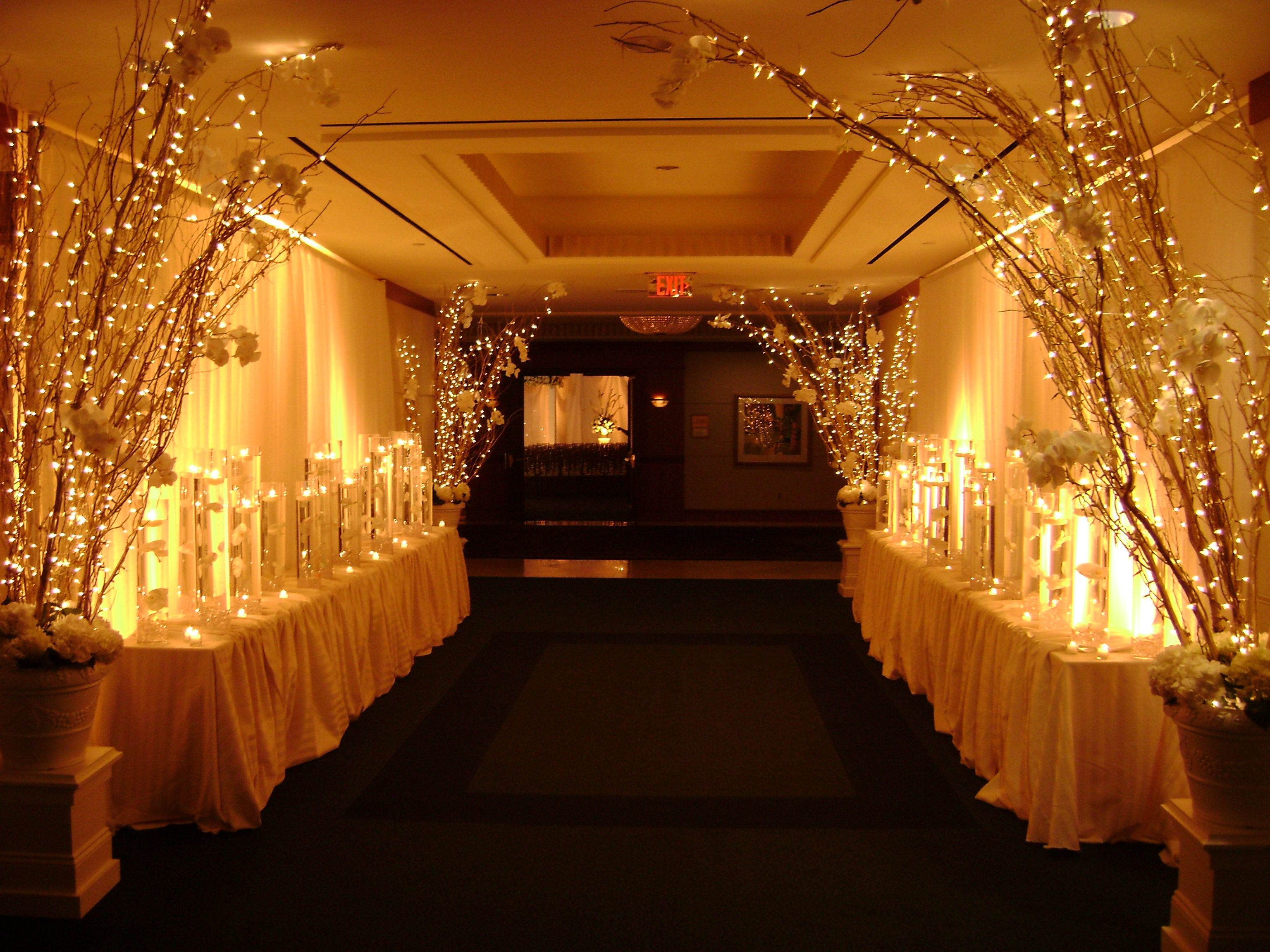 church wedding decorations candles%0A Event decor