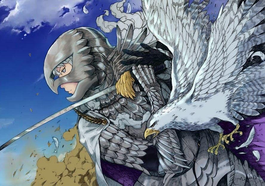 top 5 anime villains Griffith Millenium Falcon @uri_fontz