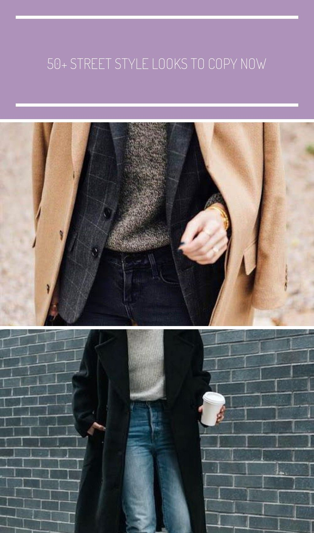 Street style fashion  fashion week Pinterest fromluxewithlove fashion preppy 50 Street Style Looks to Copy Now