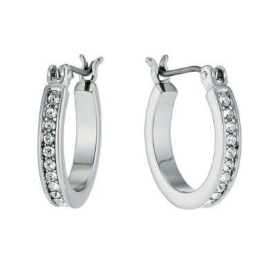 Radiance With Clear Swarovski Crystal Hoop Earrings H Samuel the