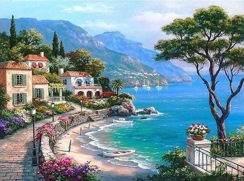 méditerranée paysage