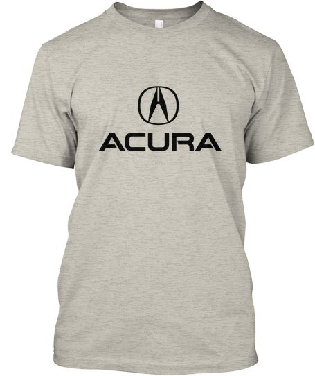 This T-shirt With Design Acura Logo