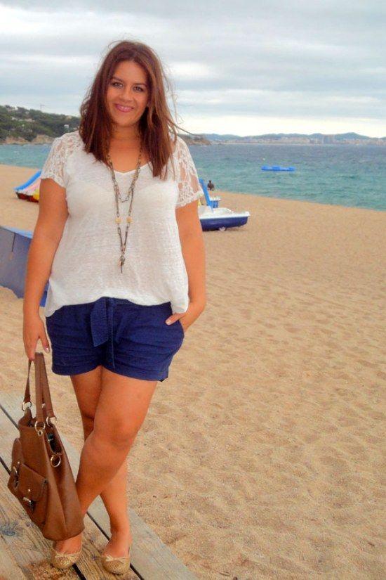 Ropa de playa para mujeres gordas