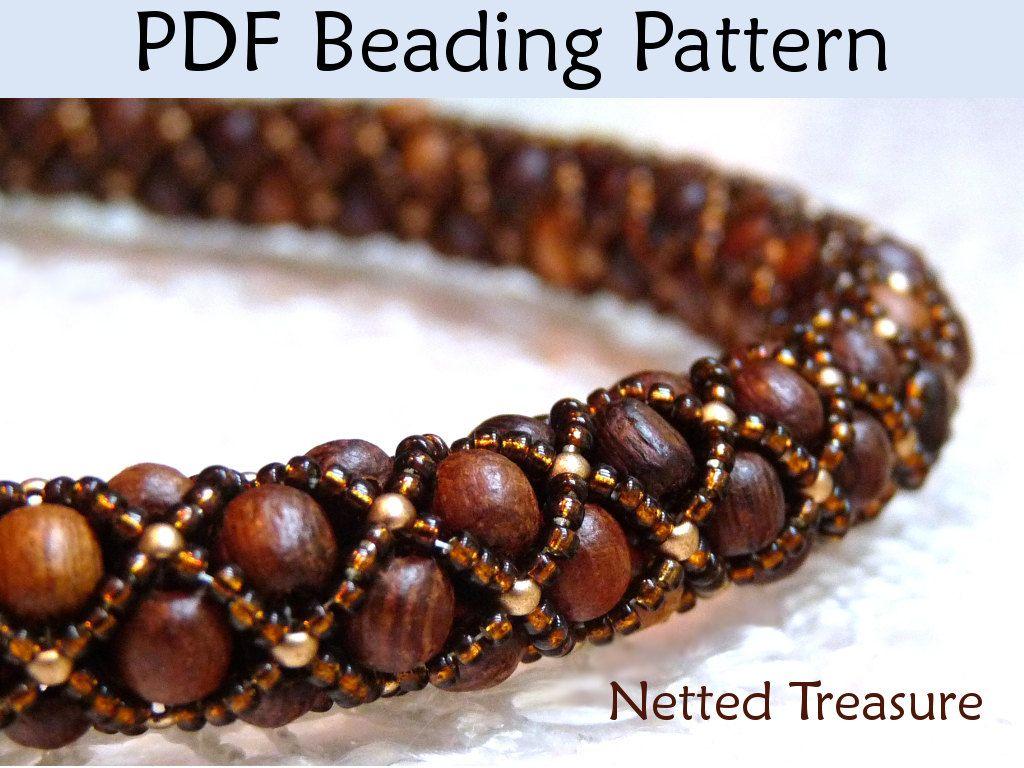 Free Beaded Jewelry Patterns Patterns Bead Stitching Necklace
