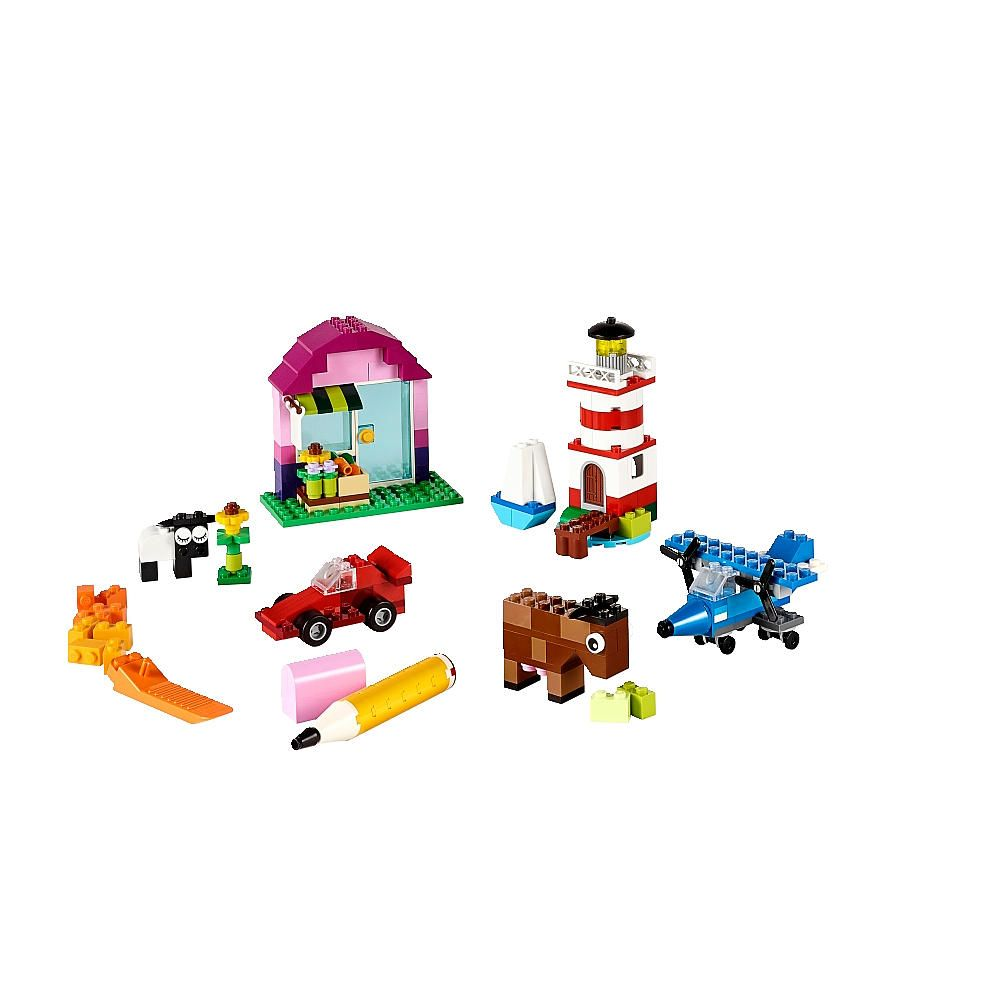 Dig Into This Selection Of Legoreg Bricks And Let Your Imagination Lego Classic 10709 Orange Creativity Box The Building Possibilities Are Endless With In 29 Different Colors Special Pieces Including Doors