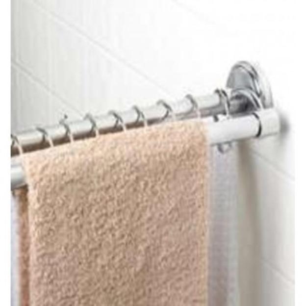 zenith chrome double shower rod home