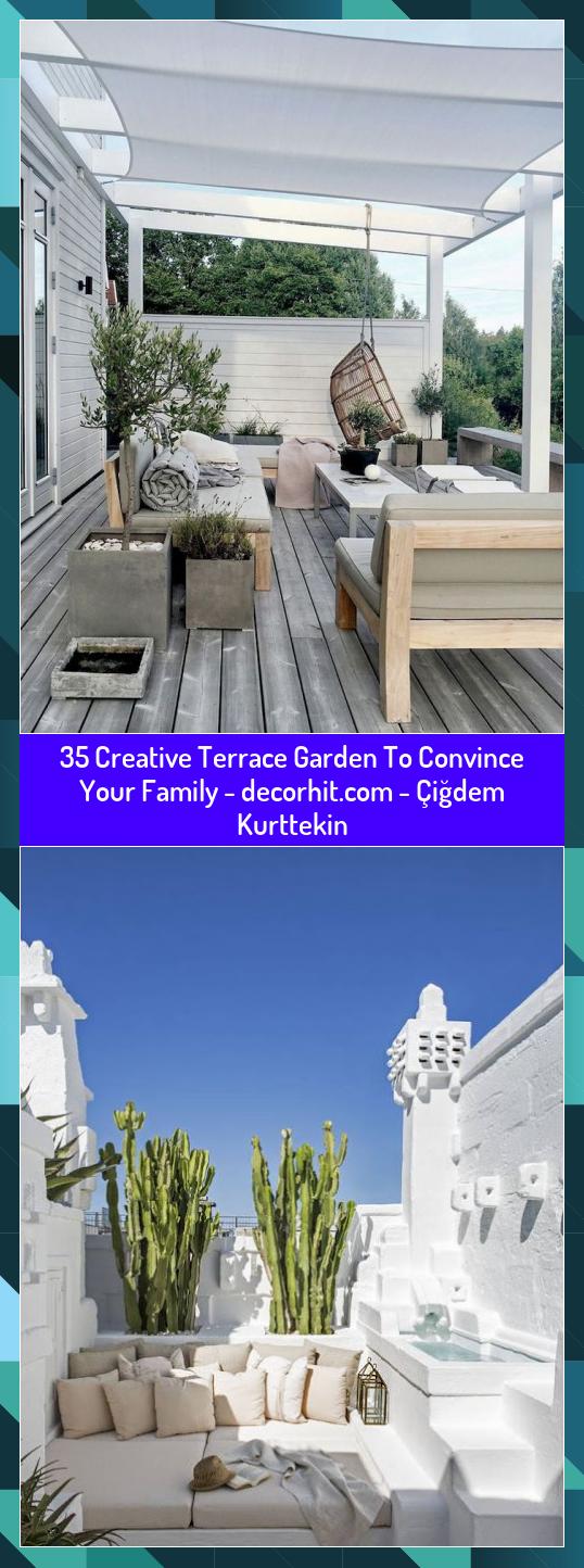35 Creative Terrace Garden To Convince Your Family   Çiğdem Kurttekin