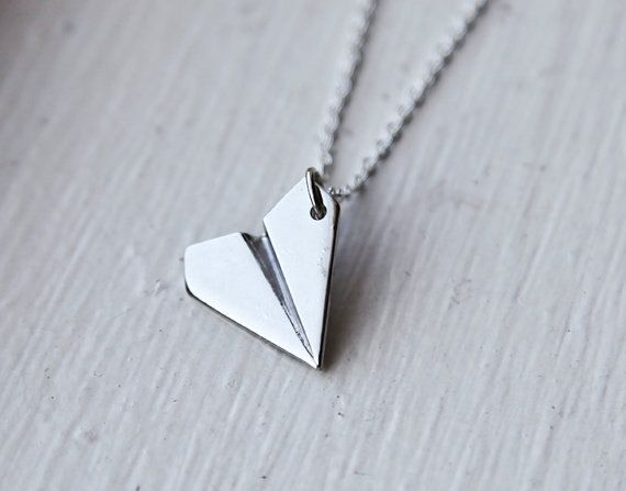 One Direction 1D Harry Styles Paper Airplane Silver /& Gold Charms Necklaces