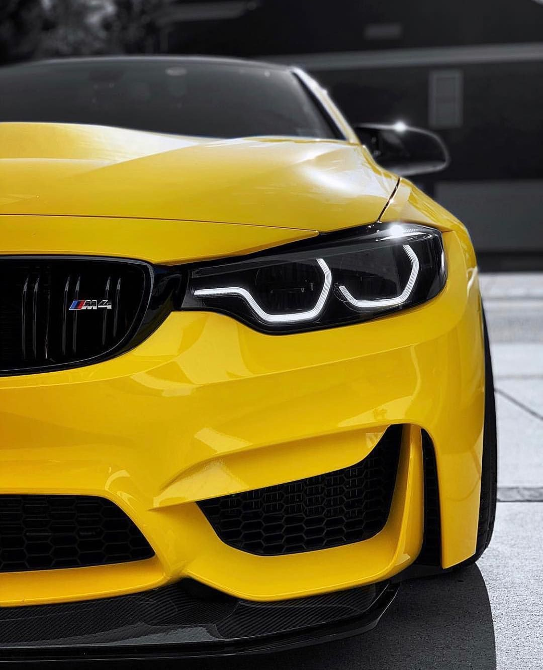 Ferrari F8 Tributo Yellow: BMW F82 M4 GTS In Avery Gloss Yellow Wrap